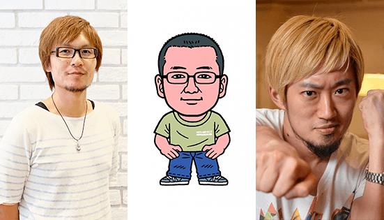 追憶の青新作発表-井坂友之 笠井正彦 安藤武博